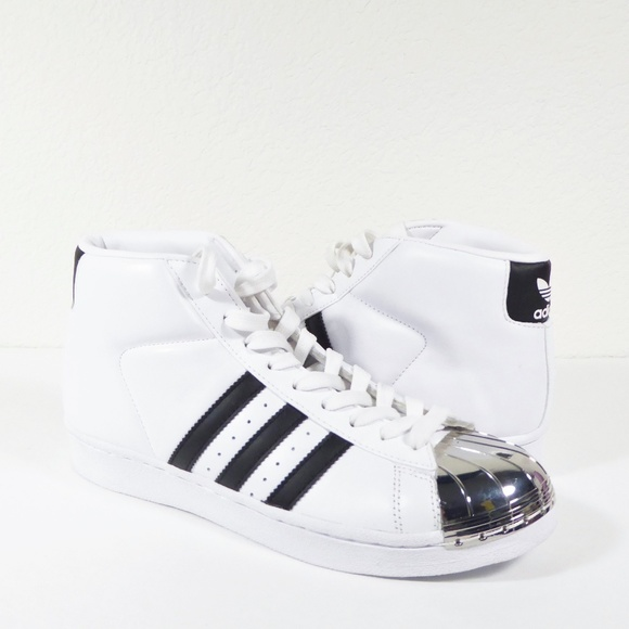 competitive price 50a8a f738f adidas Shoes - NEW Adidas Pro Model Metal Toe Sneakers Hi Tops